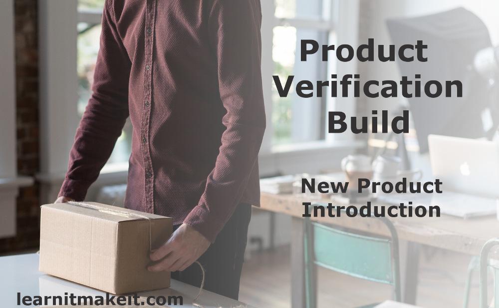 NPI Product Verification Build